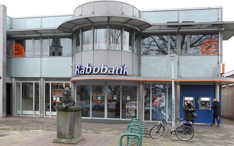 Pand van de Rabobank in Wolvega.