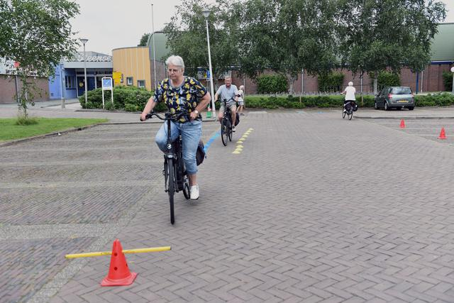 Een oefenparcours.