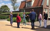 Ondernemers Herman van Dijk en Michiel Kranendonk informeren de bestuurders.